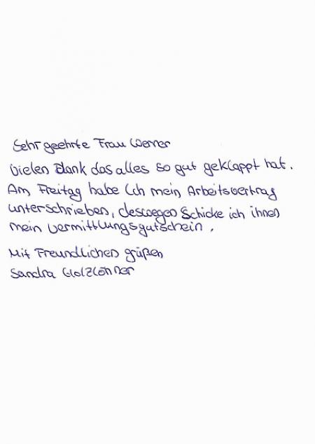 Bewerberin Frau Sandra Holzlöhner Maxxu Gmbh Co Kg Berlin